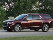 Like its predecessor, the 2018 Traverse can carry eight passengers, including the driver.