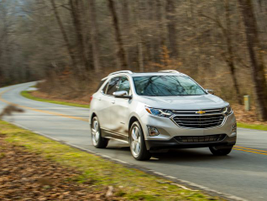 The Equinox enters is third generation as a2018-MY compact SUV.