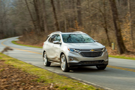 Driving the 2018 Chevrolet Equinox
