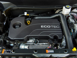The base Equinox is powered by a gasoline-fueled 1.5-liter four-cylinder.