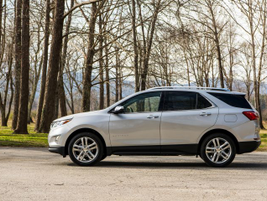 The Equinox sheds 400 pounds in the redesign.