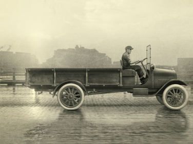 1918-1938: The early trucks included the 1918 One-Ton that was based on trucks used to move...