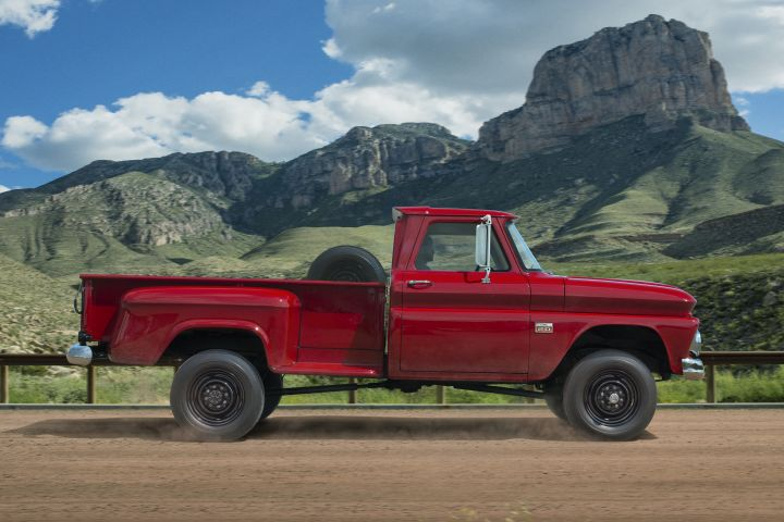 1960-1966: The first-generation C/K trucks used lower drop-center frames and debuted Chevrolet's...