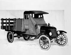 1918 Model TT one-ton stake bed