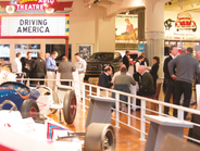 A reception was held at the Henry Ford Museum.
