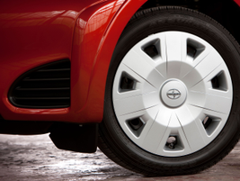 The wheels are 16-inches, tires are 175/60R16 all-season steel-belted radials.