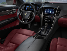 """The new ATS offers Cadillac's new CUE system, which GM said is an """"in-vehicle experience that..."""