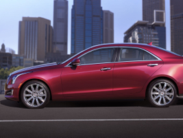 """GM said the new ATS is an expression of Cadillac's """"Art & Science"""" design philosophy."""