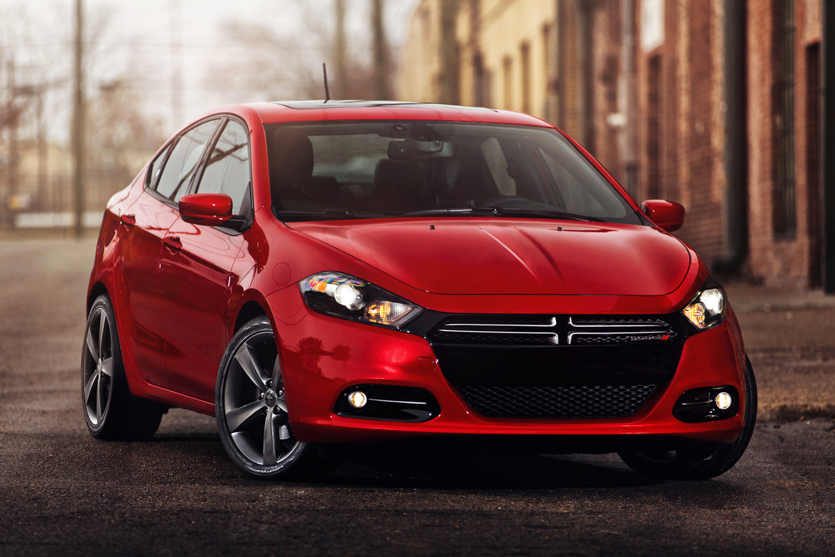 The 2013-MY Dodge Dart will come with three powertrain options, a 160 horsepower Tigershark...