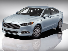 The Ford Fusion Energi.