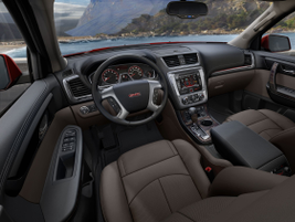 The 2013-MY Acadia also comes with redesigned infotainment functions that feature capacitive...
