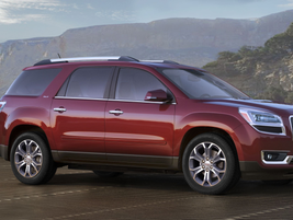 """GM said the new Acadia features a """"more upright"""" design."""