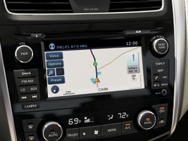 NissanConnect also comes in a navigation version.