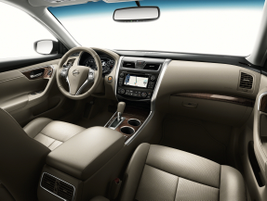 "Nissan said it upgraded the interior for the 2013 model-year, with ""NASA-inspired zero-gravity""..."