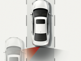 Blind Spot Warning is another feature in the Safety Shield System.