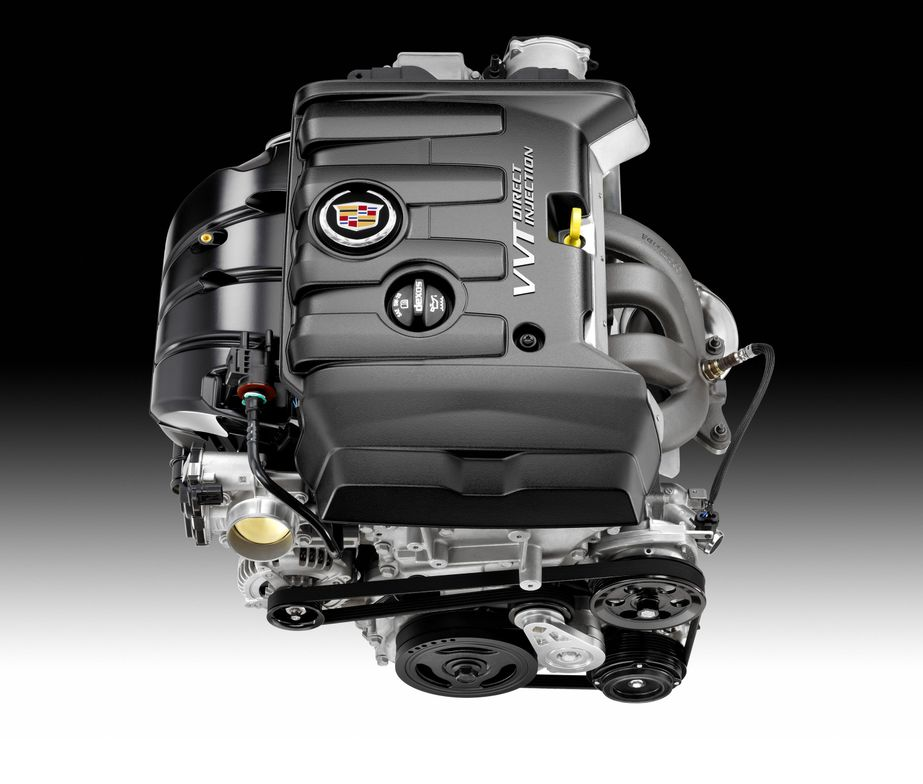 One of the engine choices on the new ATS, a 2013 2.5L I-4 with direct injection and variable...