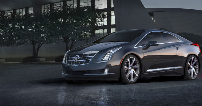 The 2014 Cadillac ELR is based on GM's Converj concept.
