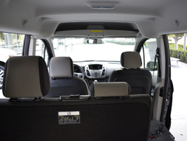 The Transit Connect Wagon seats up to seven passengers at the Titanium trim level.