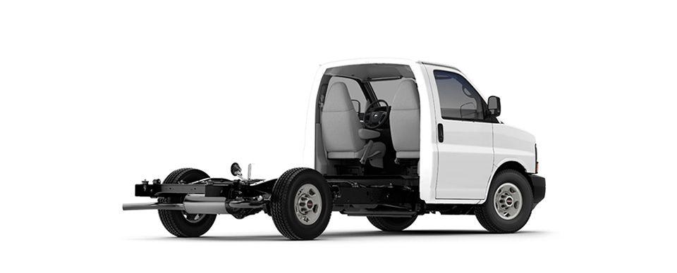 The Savana 3500 cutaway offers an upfit-ready van for vocational fleets.
