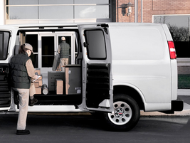 This is the largest GMC cargo van, the Savana 3500 and is available with a regular or extended...