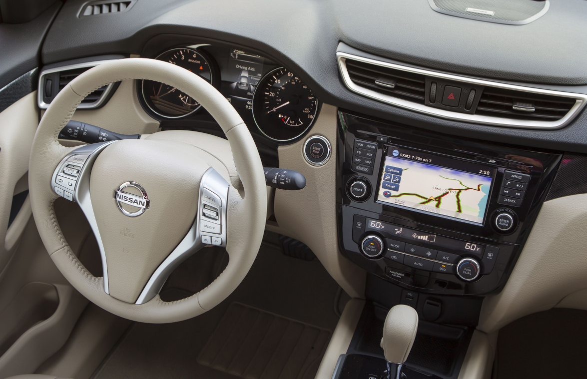 Nissan offers a standard 5.0-inch monitor and a 7-inch monitor with NissanConnect and navigation...