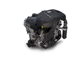 The new 3.0L EcoDiesel V-6 can produce 240 hp and 420 lb.-ft. of torque. Photo courtesy Chrysler.