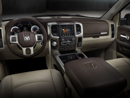 Chrysler offers a new Front Park Assist system for the 2014 Ram 1500. This system alerts the...