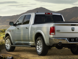 Other engine choices on the 2014 Ram 1500 include Chrysler's 3.6L Pentastar V-6 and a 5.7L HEMI...