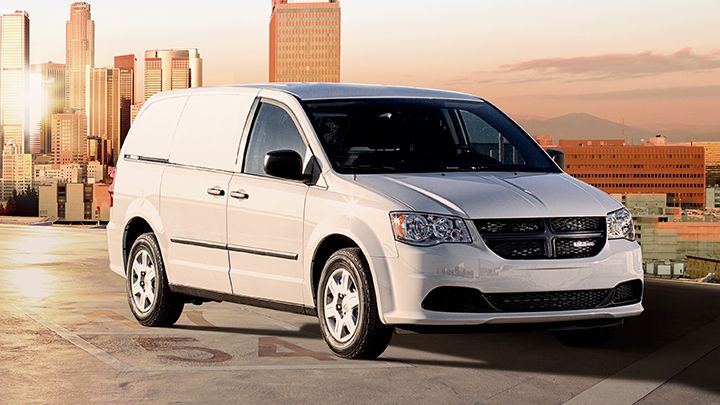 "The Ram C/V Tradesman offers the ""comfort and control of a minivan"" with the ""capability and..."