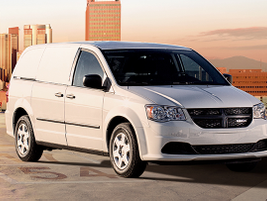 """The Ram C/V Tradesman offers the """"comfort and control of a minivan"""" with the """"capability and..."""