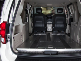 The C/V offers 42.6 square feet of load floor.