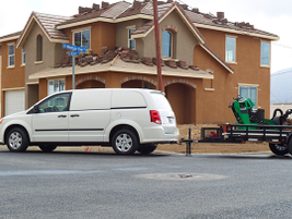 Towing jobs can be accomplished with heavy-duty suspension and a towing capacity of 3,600 pounds.