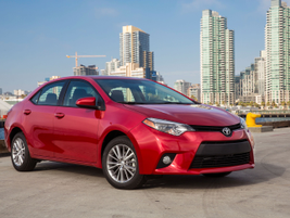 The 2014 Toyota Corolla LE grade. This is the model most commonly purchased by fleet customers,...