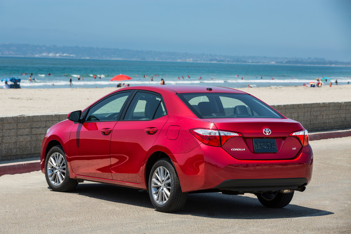 The 2014 Corolla LE grade features  a backup camera, climate control, cruise control, keyless...
