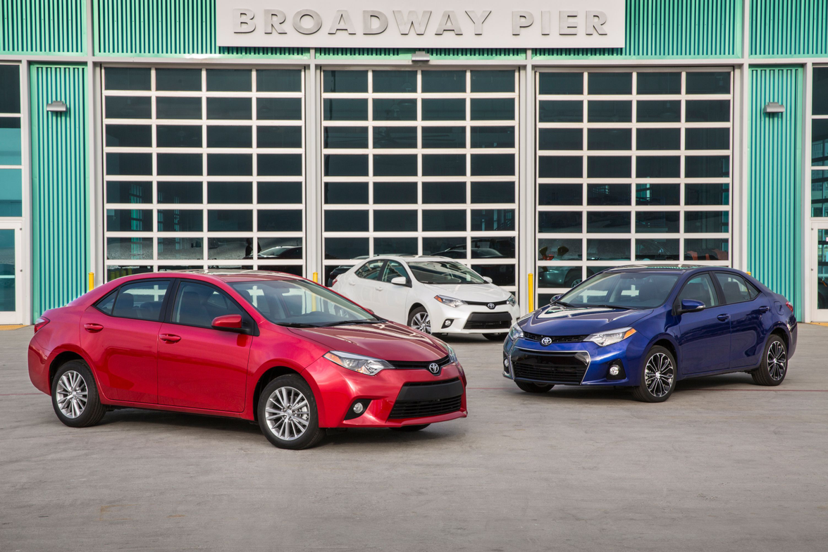 A selection of Toyota S grades. Photo courtesy Toyota.