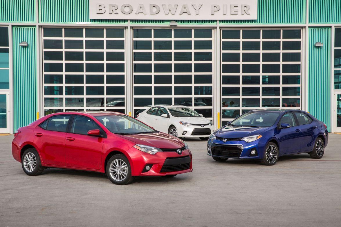 A selection of Toyota S grades. Photo courtesy Toyota.