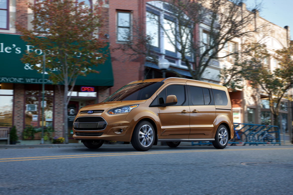 Ford said its Transit Connect Wagon will go on sale in the fourth quarter of 2013.