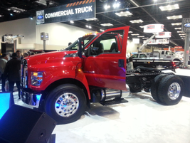 This F-650 and the F-750 will be available with three engine choices for 2016.