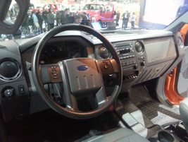 Here's the cockpit of the F-750 for 2016.