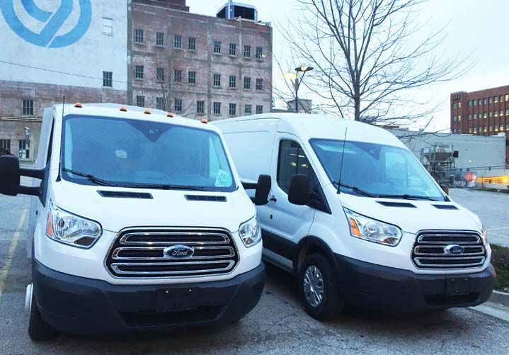 The 58 configurations of Ford Transit vans offer a multitude of equipment set-up for upfitters...