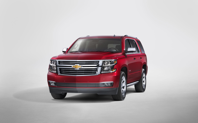2015 Chevrolet Tahoe and Suburban SUVs