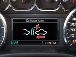 "The forward collision alert, may ""see"" a crash situation before you do, and can alert when a..."