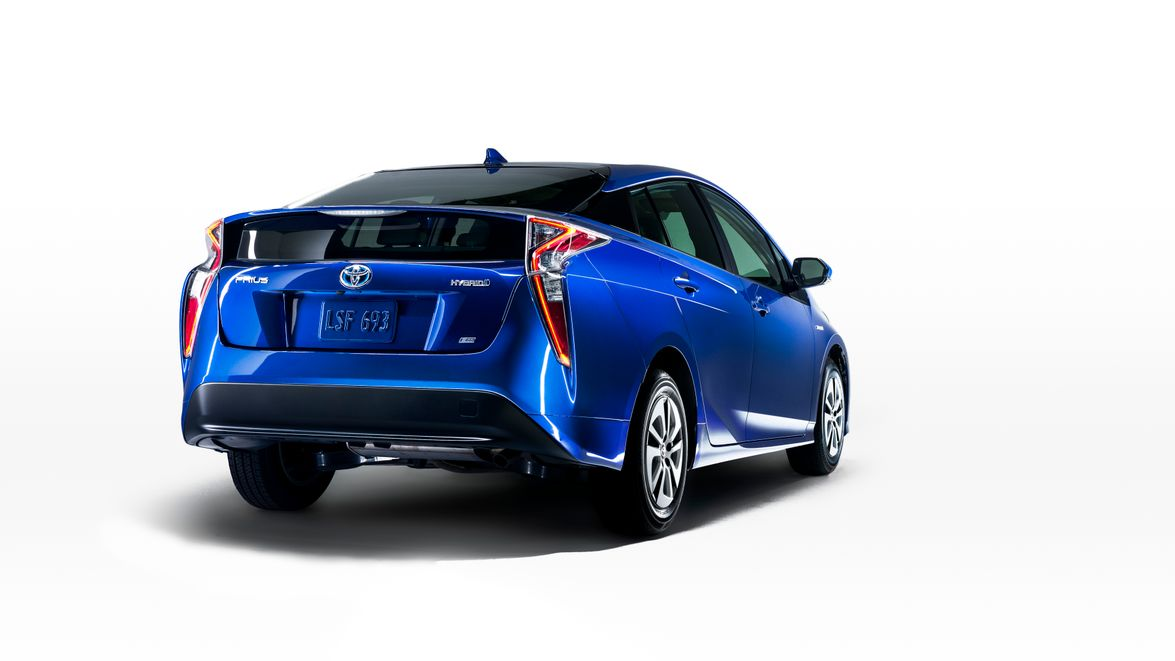 "The 2016 Prius will have a new rear double wishbone suspension that will ""dial up driving..."