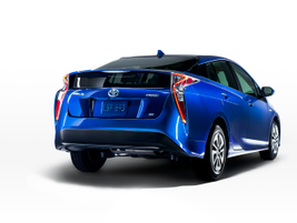 """The 2016 Prius will have a new rear double wishbone suspension that will """"dial up driving..."""