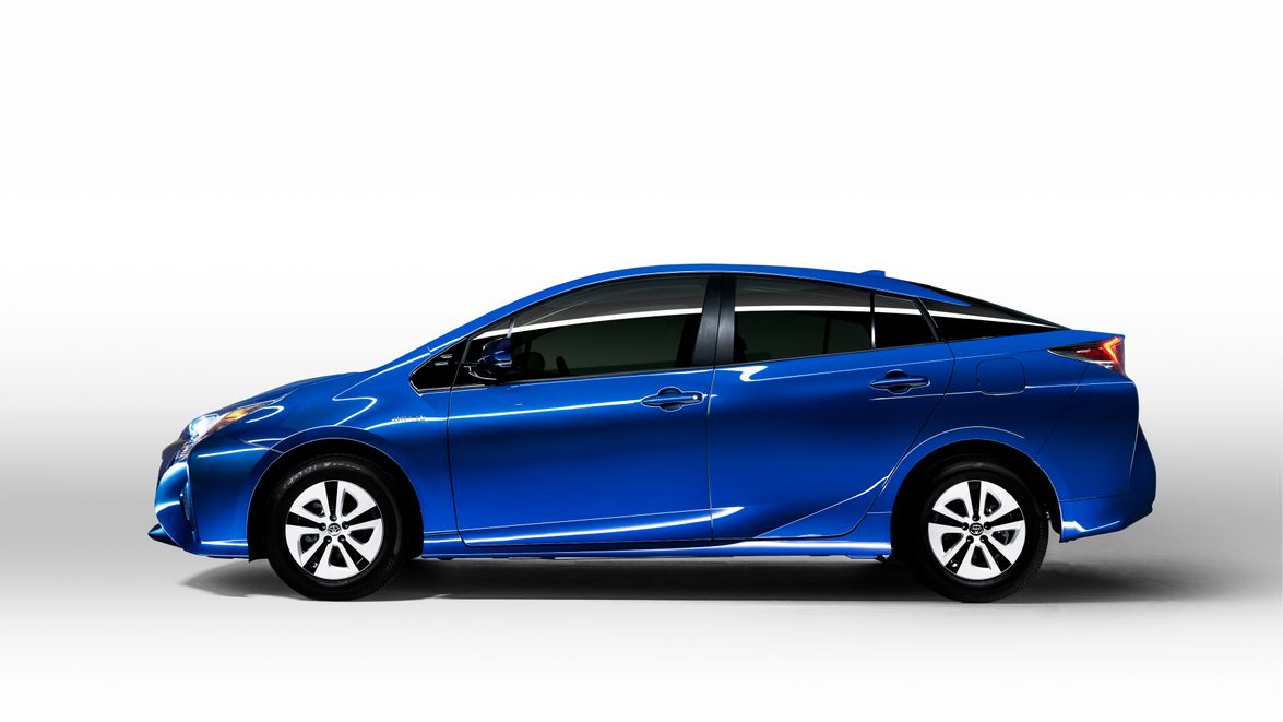 The 2016 Prius is 2.4 inches longer, 0.8 inch lower and 0.6 inch wider than the outgoing model.