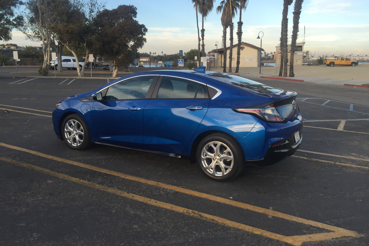 The 2016 Volt increases all-electric range to 50 miles from the 35 miles of the first-generation...