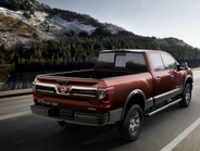 The truck sits on 20-inch aluminum-alloy wheels.