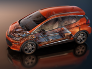 Combined with a 7.05:1 final-drive ratio,the motorhelps propel the Bolt EV from 0-60 mph in...