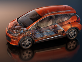 Combined with a 7.05:1 final-drive ratio, the motor helps propel the Bolt EV from 0-60 mph in...
