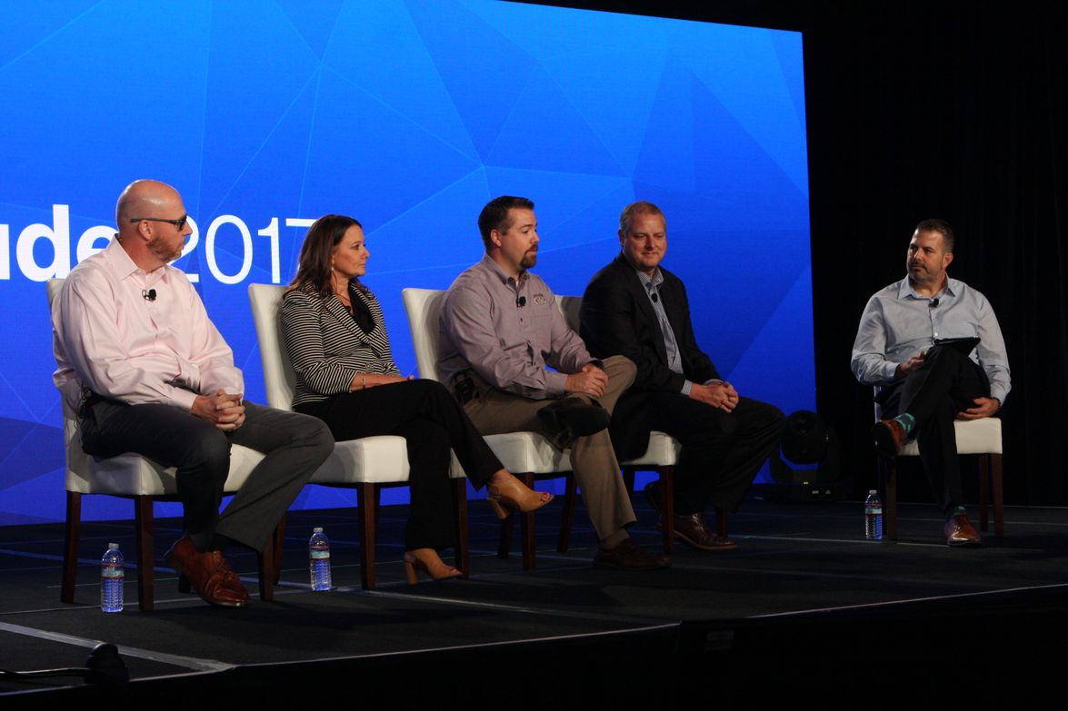 A panel on operational efficiency through API connections included customers from TruGreen,...